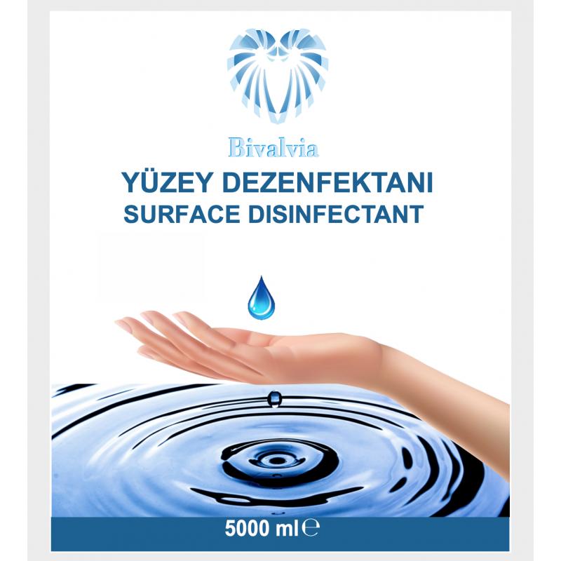 BİVALVİA YÜZEY DEZENFEKTANI 5000ML