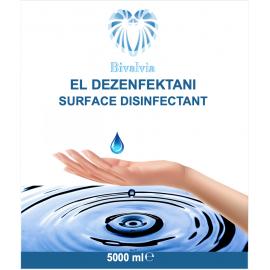 BİVALVİA ANTİSEPTİK EL-CİLT DEZENFEKTANI 5000ML
