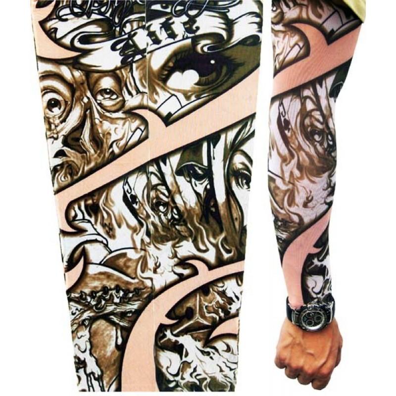 AMOUR STORE Tattoo Göz Motifli Giyilebilir Dövme