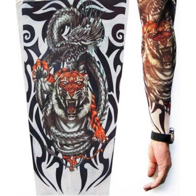 Amour Store Tattoo Kaplan Motifli Giyilebilir dövme