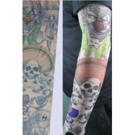 AMOUR STORE Tatto Paylaço Kuru Kafa Motifli Giyilebilir Dövme