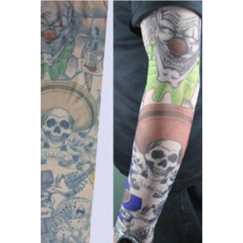 Amour Store Tattoo Paylaço Kuru Kafa Motifli Giyilebilir Dövme