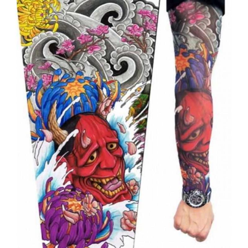 AMOUR STORE Tatto Şeytan Figürlü Giyilebilir Dövme