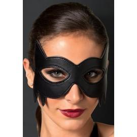 AMOUR STORE Siyah Deri Göz Maskesi