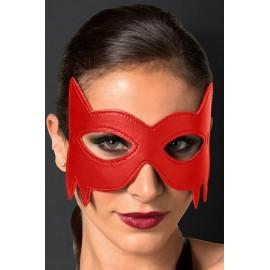 AMOUR STORE Kırmızı Deri Göz Maskesi