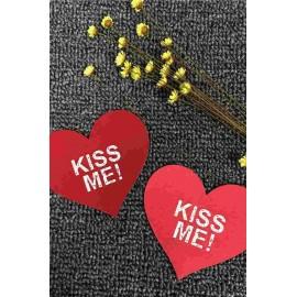 AMOUR STORE Kiss Me! Yazılı Gögüs Ucu Kapatıcı